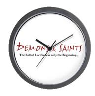 Demons & Saints Clock